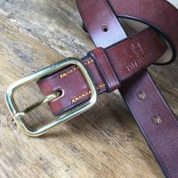 Brewer Oak Bark Bridle Leather Belt