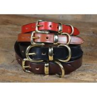 Bridle Leather Dog Collar