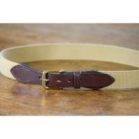Bruton Bridle Leather Webbing Belt