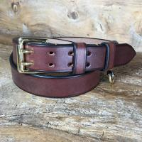 Steeplejack Oak Bark Bridle Leather Belt