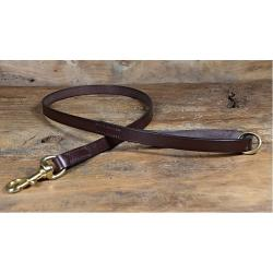 Bridle Leather Dog Lead