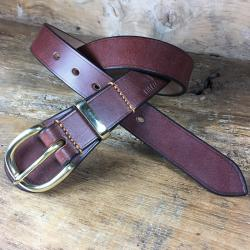 Casemaker Oak Bark Bridle Leather Belt