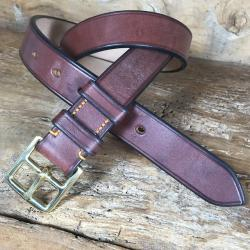 Farrier Oak Bark Bridle Leather Belt