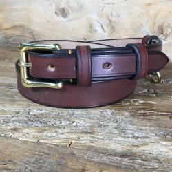Keeper Oak Bark Bridle Leather Belt