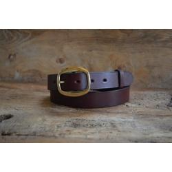 Ostler Oak Bark Bridle Leather Belt