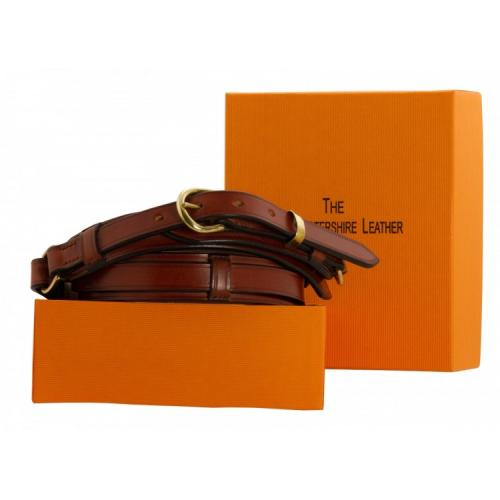 Cowdray Bridle Leather Belt