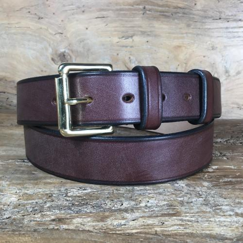 Drayman Oak Bark Bridle Leather Belt
