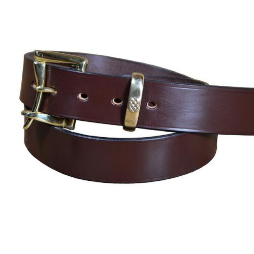 Quick Release Bridle Leather Belt 1 1/2