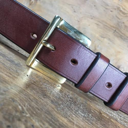 Smuggler Oak Bark Bridle Leather Belt