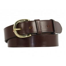 The memoirs' of a Tim Hardy Worcester Bridle Leather Belt in Nut